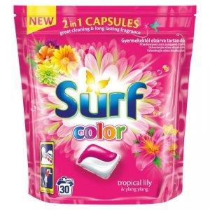 SURF Kapsułki d prania Tropikalna Lilia Kolor 30szt