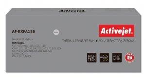 Folia kopiująca Activejet AF-KXFA136 (zamiennik Panasonic KX-FA136; Supreme; czarny)