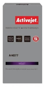 Kaseta barwiąca Activejet A-ND77 (zamiennik Siemens 1750075146; Supreme; fioletowy)