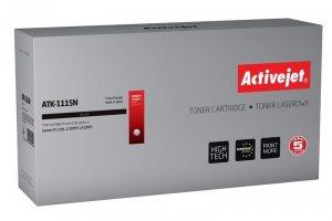 Toner Activejet ATK-1115N (zamiennik Kyocera TK-1115; Supreme; 1600 stron; czarny)