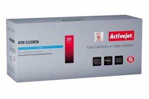 Toner Activejet ATK-5150CN (zamiennik Kyocera TK-5150C; Supreme; 10000 stron; niebieski)