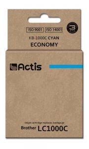 Tusz ACTIS KB-1000C (zamiennik Brother LC1000C/LC970C; Standard; 36 ml; niebieski)