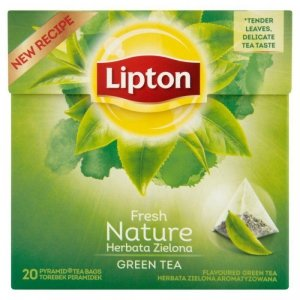 LIPTON Herbata Zielona Nature 20 torebek