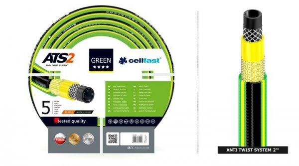"""Wąż ogrodowy Cellfast Green ATS2 3/4"""" 50m"""