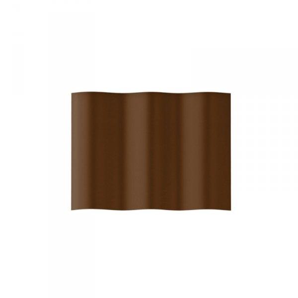 Obrzeże ogrodowe faliste 10cm x 9m Cellfast brązowe