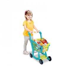 WOOPIE Wózek Sklepowy z Dźwiękiem Melodie dla Dzieci + 27 Akc.