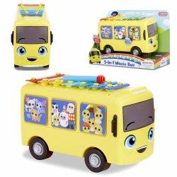 LITTLE TIKES Little Baby Bum  Muzyczny Autobus 3w1 Cymbałki