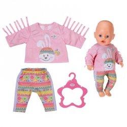 Baby Born Ubranko Sweterek z Króliczkiem z Frędzelkami + Spodenki dla Lalki 43 cm