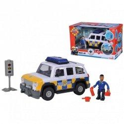 SIMBA Strażak Sam Jeep Policyjny z Figurką