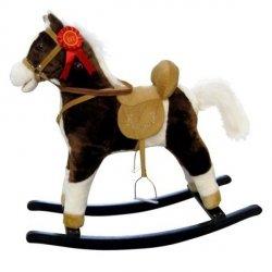 Koń Mustang ciemny brąz