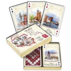 Karty Polska Akwarele 2 x 55 listków