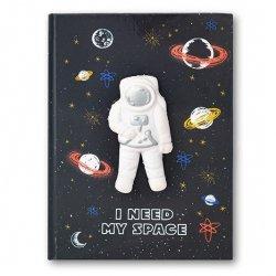 Zeszyt w kratkę Notatnik Squishy Kosmos 80 kartek