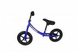 Rowerek biegowy dla dzieci PL-8 Niebieski Metalic