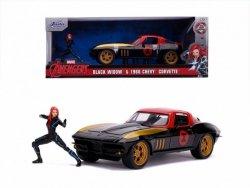 Autko Marvel Black Widow 1966 Chevy 1/24