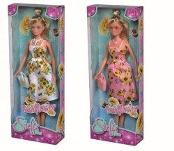 Lalka Steffi w słonecznikowej sukience, 2 rodzaje