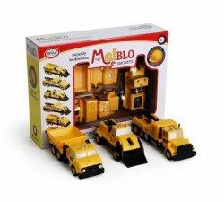 MalBlo Magnetyczne pojazdy budowlane