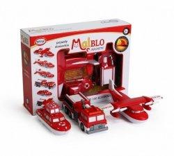 MalBlo Magnetyczne pojazdy strażackie