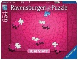 Puzzle 654 elementów Krypt Różowe