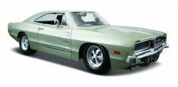 Dodge Charger 1969 1/25 Srebrny