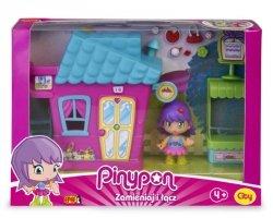 Pinypon City Zestaw Domek Różowy