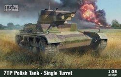 Model do sklejania 7TP Polish Tank Single Turret