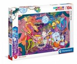 Puzzle 104 elementy - Zespół muzyczny