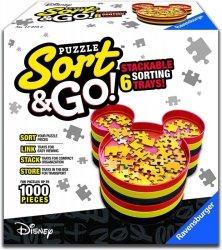 Pojemniki na puzzle Mickey's Sort&Go!
