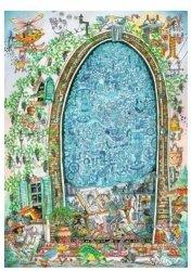 Puzzle 1000 elementów Szalony umysł artysty, Paul Korky (Puzzle+plakat)