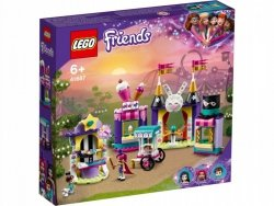 Klocki Friends 41687 Magiczne stoiska w wesołym miasteczku