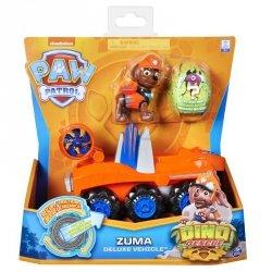 Zestaw figurek Psi Patrol Pojazd Dino Rescue Zuma