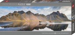 Puzzle 1000 elementów Islandia - Dzikie konie