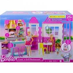 Zestaw mebelków Barbie Restauracja