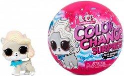 Figurka L.O.L. Surprise Color Change Pets display 18 sztuk