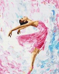 Obraz Paint it! Malowanie po numerach. Taniec kolorów
