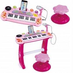 Organy z mikrofonem 31 klawiszy dźwięki DJka 8158R