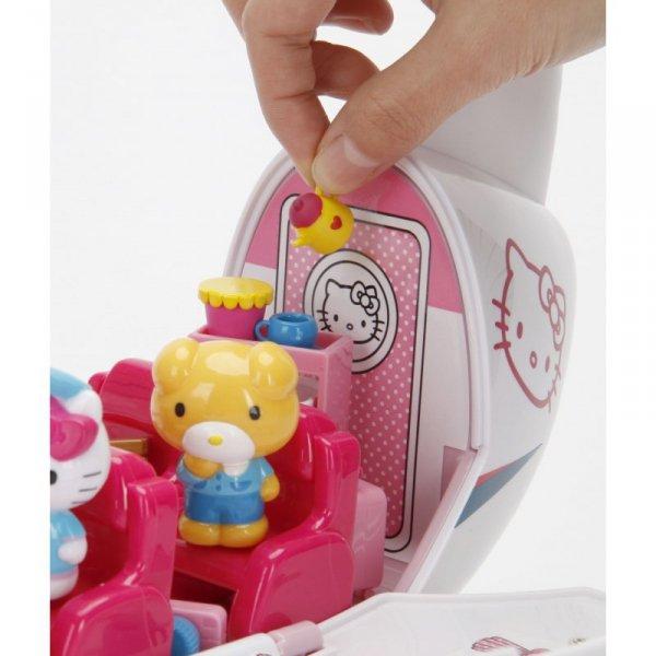 DICKIE Hello Kitty Odrzutowiec Rozkładany Figurki