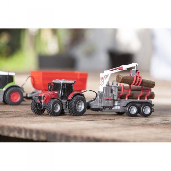 DICKIE Farm Traktor Massey Ferguson 8737 42cm.