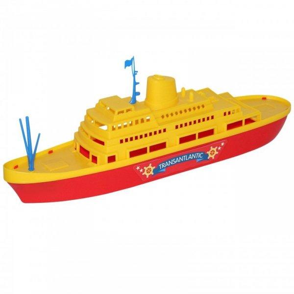 Wader QT Statek Rejsowy Zabawka Do Kąpieli Transantlantic 45cm