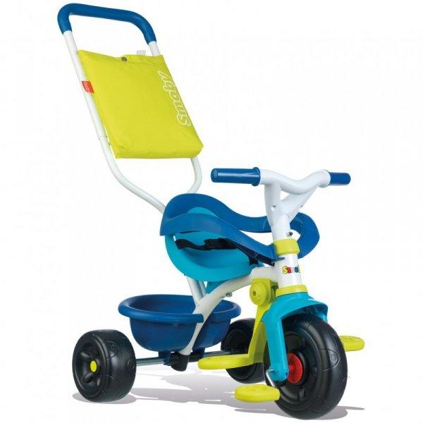 SMOBY Rowerek Trójkołowy Be Fun Komfort Niebieski