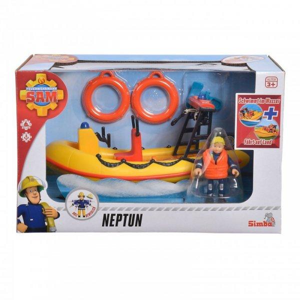 Strażak Sam Neptun Simba Łódź Akcesoria + Penny wersja 2.0