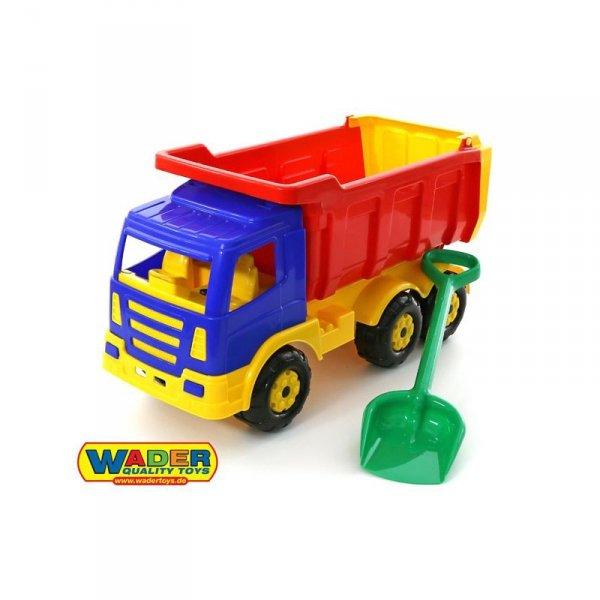 Wader QT Gigant Ciężarówka Łopatka Wywrotka 67cm