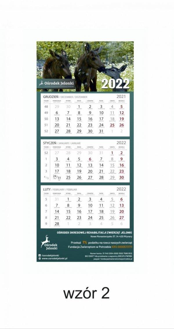 Kalendarz trójdzielny 2022 - #2