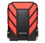 Dysk zewnętrzny HDD ADATA HD710 AHD710P-2TU31-CRD (2 TB; 2.5; USB 3.1; 8 MB; 5400 obr/min; kolor czerwony)