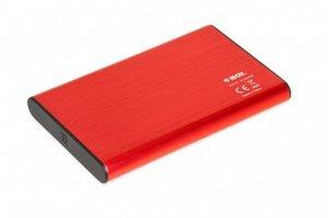 iBox HD-05 Obudowa HDD/SSD Czerwony 2.5