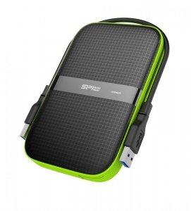 Dysk zewnętrzny Silicon Power Armor A60 SP010TBPHDA60S3K (1 TB ; 2.5; USB 3.1; 5400 obr/min)