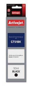 Tusz Activejet AH-GT51Bk (zamiennik HP GT51BK M0H57AE; Supreme; 90 ml; czarny)