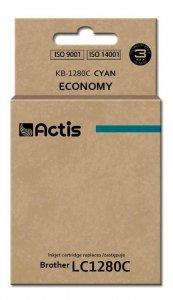 Tusz ACTIS KB-1280C (zamiennik Brother LC1280C; Standard; 19 ml; niebieski)