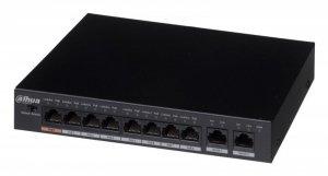Switch DAHUA PFS3010-8ET-96 (2x 10/100/1000Mbps, 8x 10/100Mbps)