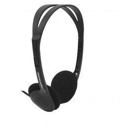 Esperanza EH119 headphones/headset Słuchawki Opaska na głowę Czarny