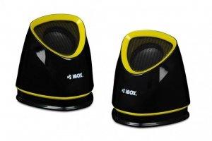 Zestaw głośników IBOX MOLDE IGLH9107B (2.0; kolor czarny)